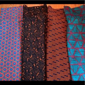 4-pack LuLaRoe Cassies MEDIUM